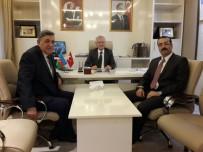 TıP BAYRAMı - Rektör Taşaltın'ın  Azerbaycan'da Eğitim Temasları