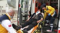 BAHÇELİEVLER - Saldırıya Uğrayan Balıkçı Hastanelik Oldu