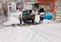 KANALİZASYON - Siirt'te Mazgal Ve Rögarlar Temizleniyor