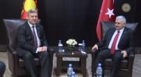 ARNAVUTLUK - Yıldırım, Makedonya Cumhurbaşkanı Ivanov İle Görüştü