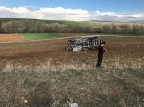 YOZGAT - Yozgat'ta Trafik Kazası Açıklaması 1 Yaralı