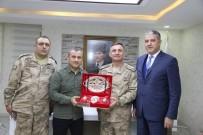 TUNCELİ VALİSİ - Albay Arslan'dan Vali Sonel'e Ziyaret