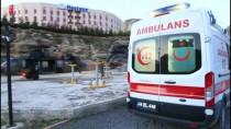 HULUSİ EFENDİ - Askeri Helikopter, Silahla Yaralanan Çocuk İçin Havalandı