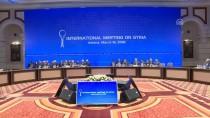 DIŞİŞLERİ BAKANLARI - Astana'da Suriye Konulu Dışişleri Bakanları Toplantısı Başladı