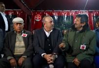 UZMAN ÇAVUŞ - Bakan Çavuşoğlu'ndan Şehit Ailesine Taziye Ziyareti