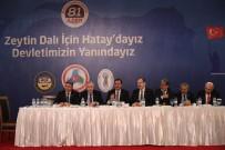 HALK BANKASı - Bakan Tüfenkci'den Hatay'a Art Arda Müjde