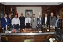 İSMAİL HAKKI - Bakkallar Odası'ndan Başkan Ataç'a Ziyaret