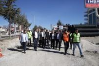 ALAADDIN KEYKUBAT - Başkan Türel Korkuteli'nde Çalışmaları Denetledi