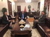 AYŞE TÜRKMENOĞLU - Cihanbeyli'ye Adalet Sarayı Kısa Sürede Kazandırılacak