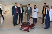 AKÜLÜ ARABA - Çocuklar Ameliyata Akülü Arabayla Gidecek