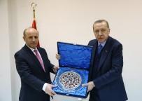 OSMAN AŞKIN BAK - Cumhurbaşkanı Erdoğan, Erzurum Valisi Ve Büyükşehir Belediye Başkanını Kabul Etti