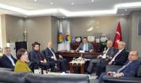 YUSUF YıLDıZ - Ekonomi Bakanlığı Yetkilileri TSO'yu Ziyaret Etti