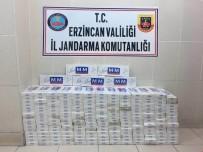 Erzincan Da 2 Bin 270 Paket Kaçak Sigara Ele Geçirildi