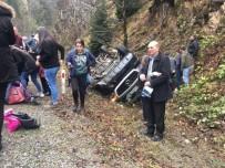 Giresun'da Yolcu Minibüsü Kaza Yaptı Açıklaması 16 Yaralı