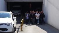 SANAYİ SİTESİ - GSM Şirketi Yöneticisine Silahlı Saldırının Failleri Adliyeye Sevk Edildi
