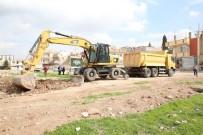 İŞ MAKİNESİ - Haliliye'de Yeni Sokaklar Açıldı