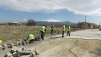 ARNAVUT - İncesu Belediye Başkanı Zekeriya Karayol Parke Çalışmalarını Yerinde İnceledi