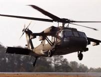 KURTARMA EKİBİ - ABD askerlerini taşıyan helikopter düştü