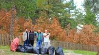 KALKıM - Kalkım Çevre Gönüllüleri  Çevre Temizliğine Başladı