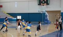BASKETBOL TAKIMI - Kardelen Koleji Basketbol Takımı Yarı Final Yolunda