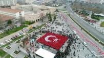 SÜLEYMAN KAMÇI - Kayseri'den Mehmetçiğe Bin Bayraklı Selam