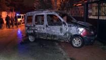 GÜVENLİK KAMERASI - Konya'da Hafif Ticari Araç Kundaklandı