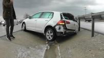 DOLU YAĞIŞI - Kulu'da Trafik Kazaları Açıklaması 1 Yaralı