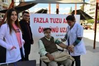 HİPERTANSİYON - Kumluca'da Sağlıkçılar Fazla Tuz Tüketimine Dikkat Çekti