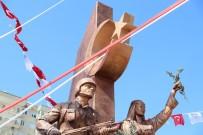 SINIR DIŞI - Mersin'de Zeytin Dalı Anıtı'nın Açılışı Yapıldı