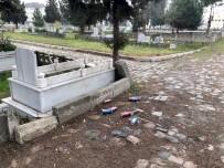 KAYNAR - Mezarlıkta 'Alkol' Rezaleti