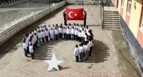 Minik Öğrencilerden Mehmetçiğe Ay-Yıldızlı Destek