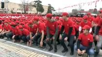 SÜLEYMAN KAMÇI - Öğrencilerden Afrin'e 'Türk Bayraklı' Destek