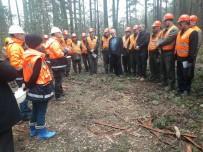 İŞ SAĞLIĞI VE GÜVENLİĞİ - Ormanda Eğitim Tatbikatı