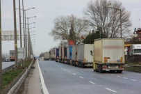 BULGARISTAN - Rekor Tır Kuyruğu Azalmaya Başladı Açıklaması 20 Kilometre