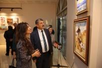 RESSAM - Ressam Ayfer Gündüzhev Yıldırım'ın Resim Sergisi Açıldı