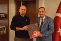 ŞİİR KİTABI - Şair Nazilli, Başkan Saraoğlu'na Kitap Hediye Etti