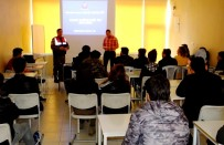 MADDE BAĞIMLILIĞI - Sultanhanı'nda Öğrencilere Madde Bağımlılığı Semineri
