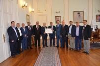 YARDIM KAMPANYASI - Süt Üreticilerinden Mehmetçik Vakfına 387 Bin TL Yardım