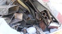 MÜHİMMAT DEPOSU - Teröristler Terk Ettikleri Binalara Patlayıcı Tuzaklamış