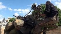 CANLI KALKAN - TSK Ve ÖSO Afrin'de Sivilleri Hedef Alan Terör Mevzilerini İmha Etti