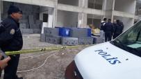 GÜVENLİK ÖNLEMİ - 13'Üncü Kattaki İskeleden Düşen İnşaat İşçisi Hayatını Kaybetti