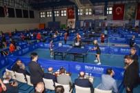 GÜNEY KORE - Adana'da 6. Veteran Masa Tenisi Turnuvası Başladı