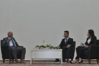 SERBEST BÖLGE - Başkan Çalışkan KMÜ'de Öğrencilerin Sorularını Yanıtladı