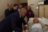 GENEL SEKRETER - Başkan Ergün'den Açıkdil'e Geçmiş Olsun Ziyareti