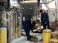 POLİS - Başkent'te Gaz Dolumu Yapılan Fabrikada Korkutan Patlama Açıklaması 1 Yaralı