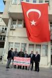 GAZİLER DERNEĞİ - Birecik' Te Şehit Yakınlari Ve Gazilerden Mehmetçiğe Destek