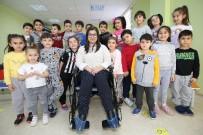 TEKERLEKLİ SANDALYE - Çankayalı Çocuklar Engelsiz Hayatı Öğrendi