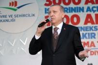 ÇEVRE VE ŞEHİRCİLİK BAKANLIĞI - Cumhurbaşkanı Erdoğan, Sur'da Temel Atma Törenine Katıldı