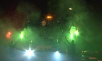 TAKIM OTOBÜSÜ - Derbi Sonrası Galatasaray'a Coşkulu Karşılama