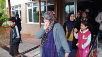 SAĞLIĞI MERKEZİ - Diş Hastanesinde Yangın Ve Hasta Kurtarma Tatbikatı